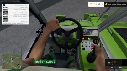 Мод погрузчика Merlo P417 Turbofarmer Rear Hydraulics