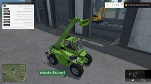 Merlo P417 Turbofarmer Rear Hydraulics