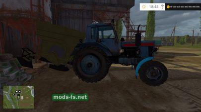 Модификация трактора МТЗ-82 (старая кабина)