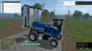 Мод комбайна NEW HOLLAND 9060L