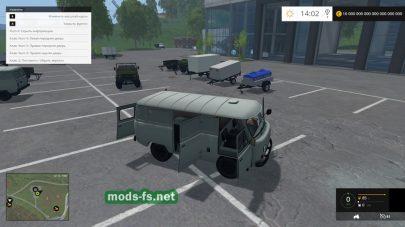 Набор автомобилей УАЗ для Farming Simulator 2015