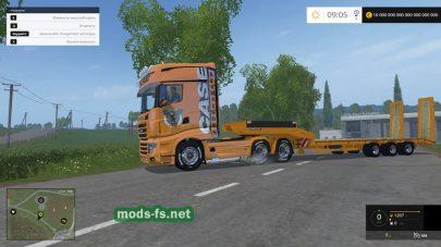 Мод грузовика и экскаватора Case