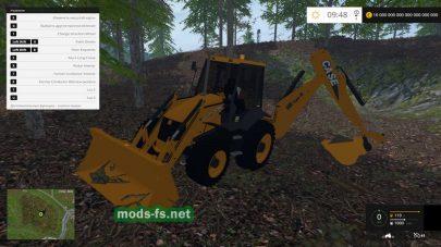 Погрузчик CASE для Farming Simulator 2015