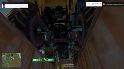 Трактор ХТЗ T-150K для Farming Simulator 2015
