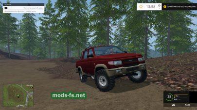 uaz-2362 mods FS 2015