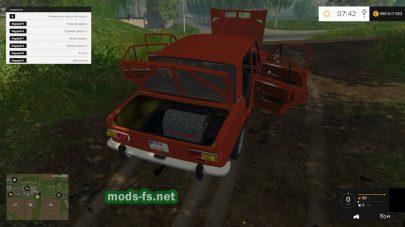 Автомобиль ВАЗ-2101 для Farming Simulator 2015