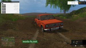 Мод ВАЗ-2101 с прицепом