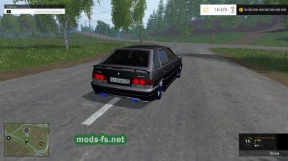 Автомобиль ВАЗ-2114 для Farming Simulator 2015