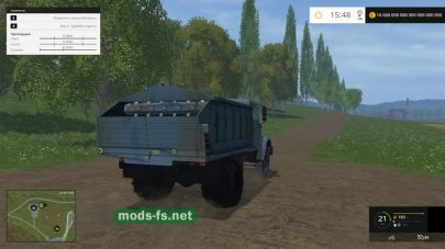 Кормораздатчик Зил-45065 для Farming Simulator 2015