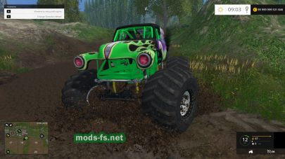 Мод Grave Digger