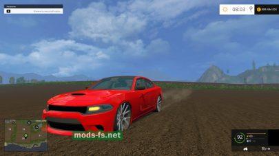 Автомобиль Dodge Charger Hellcat для FS 2015