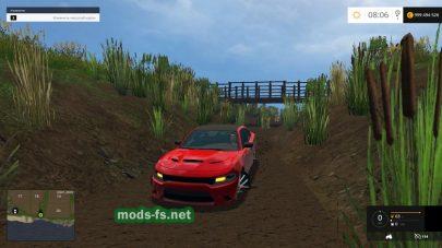 Мод «Dodge Charger Hellcat» для FS 2015