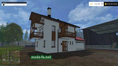 Мод «Дом с гаражом»