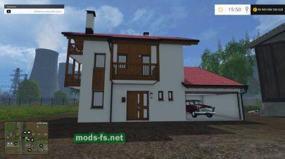 Дом для игры FS 2015
