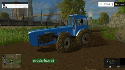 Длинный трактор для FS 2015