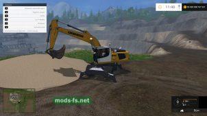 Экскаватор для Simulator 2015