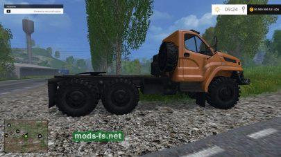 УРАЛ для Фермер Симулятор 2015