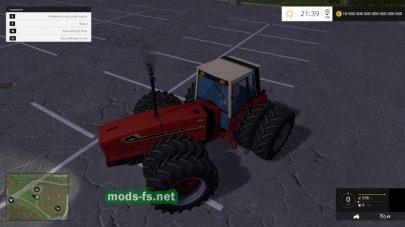 Мод трактора International Harvester 3588