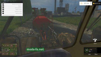 Мод трактора «Кировец»