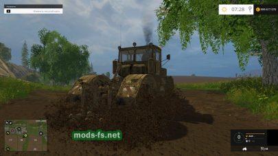 Мод старого трактора «Кировец»