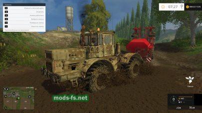 Ржавый трактор «Кировец» К-701 для FS 2015