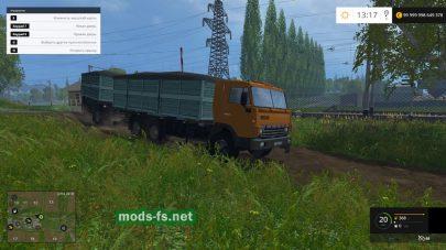 КамАЗ 55102 для FS 2015