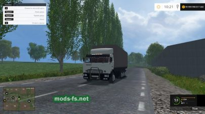 Мод КамАЗ-53212 с прицепом для FS 2015