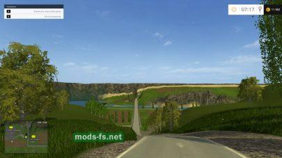 Природа на карте в Farming Simulator 2015