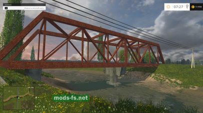 Мост в FS 2015