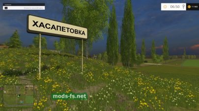 Хасапетовка для Farming Simulator 2015