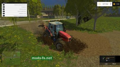 Болото в Farming Simulator 2015