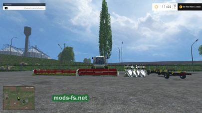Мод CLAAS LEXION 480: комбайн для пшеницы, кукурузы, подсолнуха