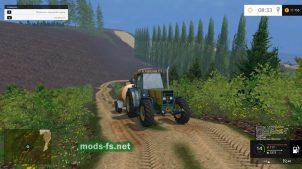 Горы в игре Фермер Симулятор 2015