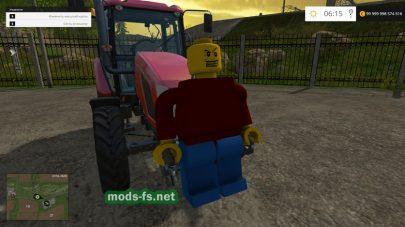 Мод противовеса Lego