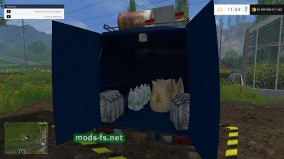 Мод автомобиля для заправки сеялок в Farming Simulator 2015