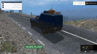 ИЖ 2715 Москвич для заправки зерном и удобрениями