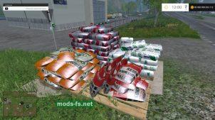 Мешки с семенами