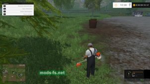 Мод бензокоса для Farming Simulator 2015