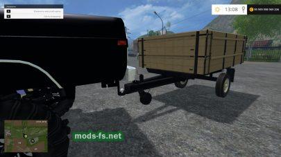 Прицепы для автомобилей УАЗ в игре FS 2015