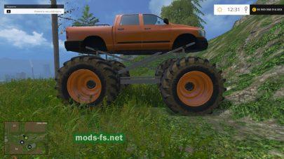 Мод большого Monster Truck