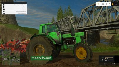 Мод зеленого трактора МТЗ-80
