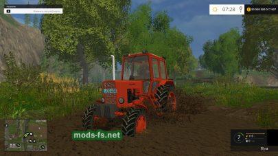 Трактор МТЗ-82 для Фермер Симулятор 2015