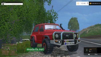 Мод джипа Nissan Patrol GR