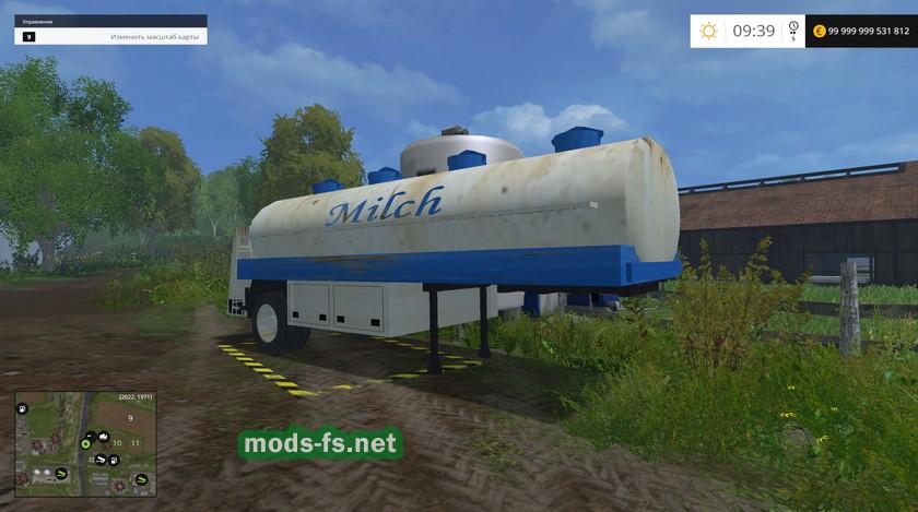 Скачать Мод На Фс 17 Цистерна Для Воды И Молока img-1