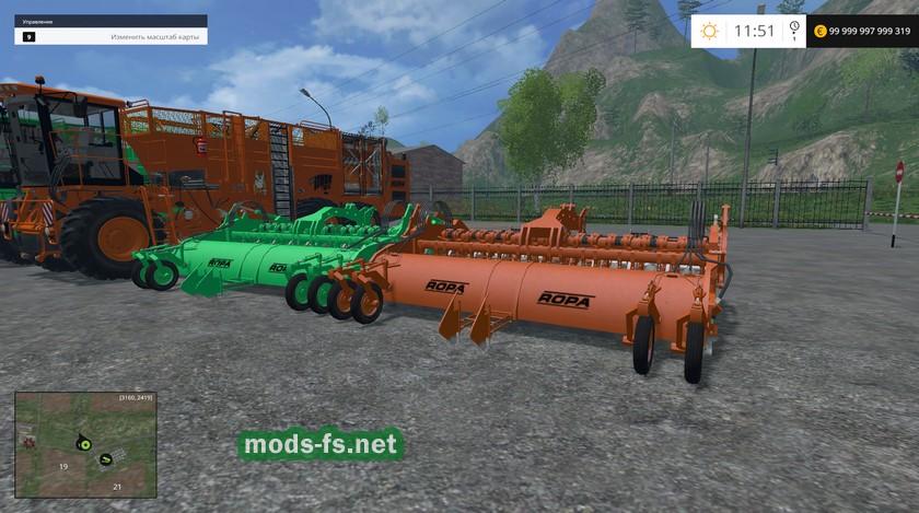 Скачать мод на farming simulator 2017 ropa