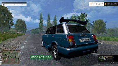 Тюнинг версия мода ВАЗ-2104