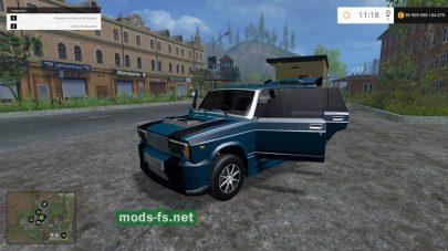 Мод автомобиля Жигули «четверка» для FS 2015