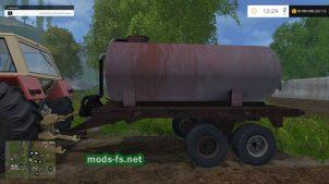 Farming Simulator 2015: бочка для жидкого навоза