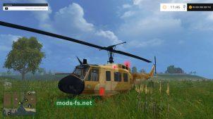 "Мод вертолета ""BELL UH-1D"""