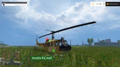 Мод настоящего вертолета для Фермер Симулятор 2015